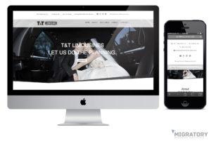 T&T Party Bus Portfolio Web