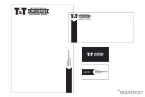 T&T Party Bus Portfolio Stationary